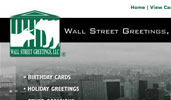 Wall Street Greetings